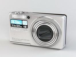 Ricoh Caplio R6 Digital Camera 3d model preview