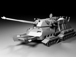 Future Heavy Tank 3d preview