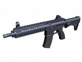 HK416 Assault Rifle 3d preview