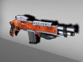 BL Assault Rifle 3d model preview