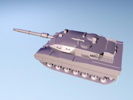 Leopard 2 Main Battle Tank 3d preview