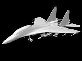 Fighter Plane 3d preview