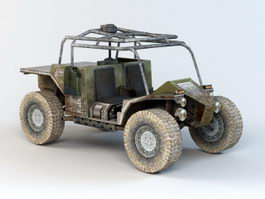 Military Buggy 3d preview
