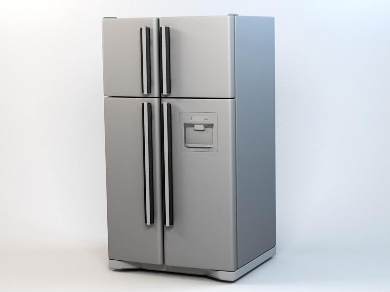 Siemens Refrigerator 3d rendering