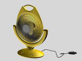 Electric Heater 3d model preview