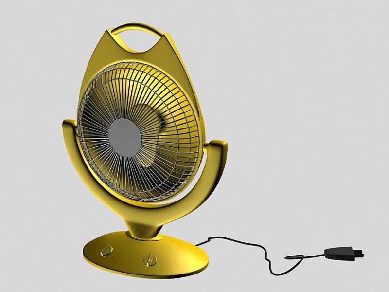 Electric Heater 3d rendering