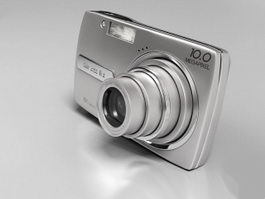 Compact Digital Camera 3d model preview