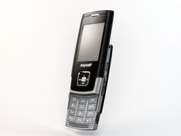 Samsung SCH-F519 Mobile Phone 3d model preview