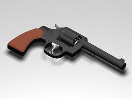 Colt Revolver 3d model preview
