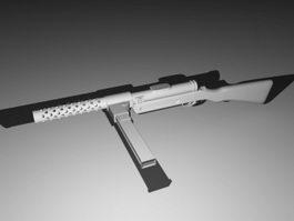 Mini Submachine Gun 3d model preview