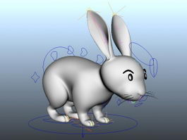 Rabbit Rig 3d preview