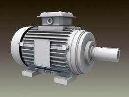 Electric Motor 3d preview
