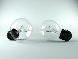 Incandescent Light Bulb 3d preview