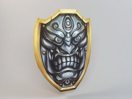 Demon Shield 3d preview