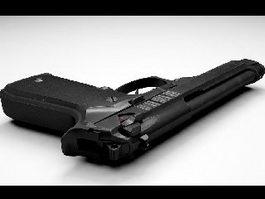M9 Pistol 3d model preview