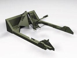 M1 Dozer Blade 3d preview