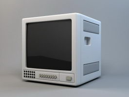 Old Monitor 3d preview