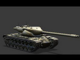 T57 Heavy Tank 3d preview