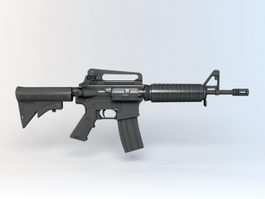 American M4 Carbine 3d preview