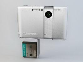 Sony Cyber-shot DSC-G1 Camera 3d model preview