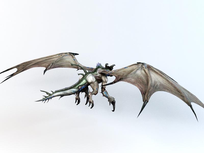 Drake Creature 3d rendering