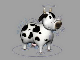 Cow Rig 3d preview