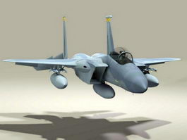 American F-15 Eagle 3d model preview