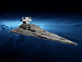 Imperial Star Destroyer 3d preview