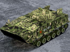 ZBD-04 Chinese Infantry Fighting Vehicle 3d preview