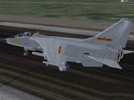 JH-7A Fighter-Bomber 3d preview