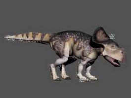 Protoceratops Dinosaur Rig 3d model preview