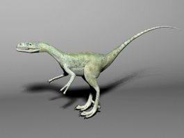 Compsognathus Dinosaur 3d preview