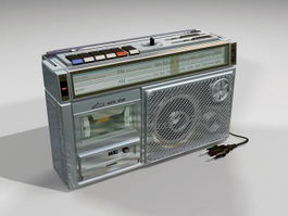 Cassette Tape Recorder Player 3d preview