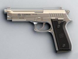 Taurus PT24/7 Pistol 3d model preview