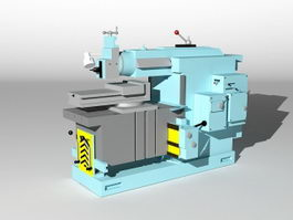 Planer Machine 3d preview