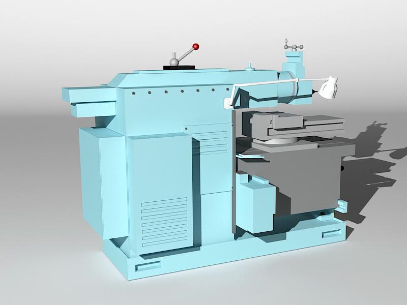 Planer Machine 3d rendering
