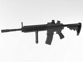 M16 Rifle 3d model preview