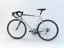 Road Bicycle 3d preview