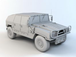 Off-road Vehicle 3d preview