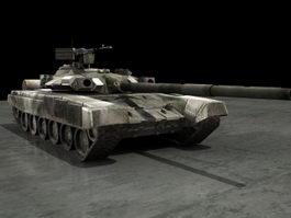 Russian T-90 Battle Tank 3d preview