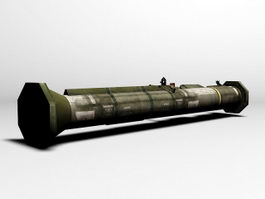 AT4 Anti-tank Weapon 3d preview