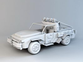 Off-Road Truck 3d preview