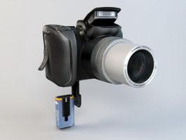 Kodak Z712 IS ZOOM Digital Camera 3d model preview