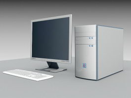Desktop Computer 3d preview