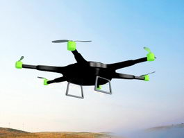 Recreational Drone 3d model preview