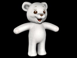 Cute Teddy Bear 3d preview