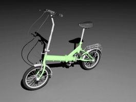 Lady City Bike 3d model preview