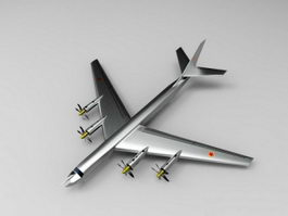 Tu-95 Bear Bomber 3d preview