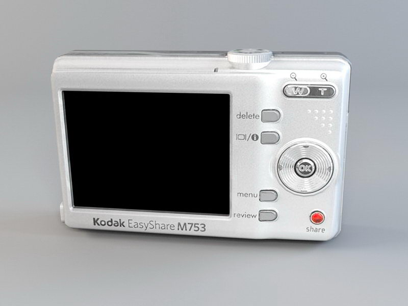 Kodak M753 Camera 3d rendering
