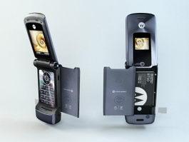 Motorola W510 Flip-phone 3d model preview